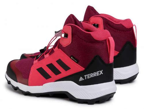 Buty outdoorowe Adidas w damskiej kolorystyce
