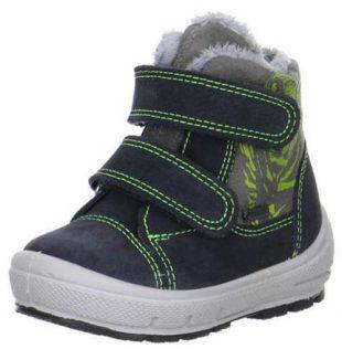 Chłopięce buty zimowe GROOVY z zapięciem na rzepy