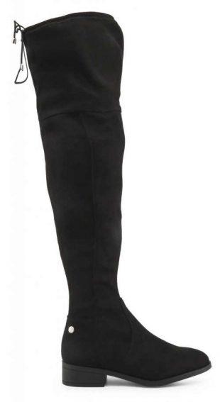 Czarne buty damskie powyżej kolan Xti Tanie