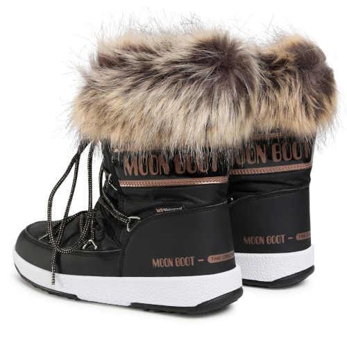 Damskie nowoczesne zimowe buty śniegowe