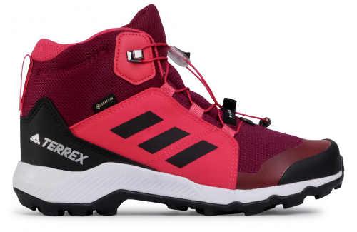 Fioletowe damskie buty sportowe do chodzenia po lesie