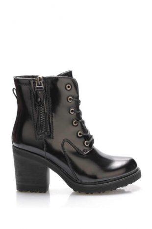 Damskie niskie buty z połyskiem