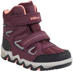 Dziecięce buty za kostkę z wodoodporną membraną