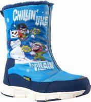 Dziecięce wysokiej jakości buty zimowe Warner Brothers CHILLIN HIGH z wesołym nadrukiem