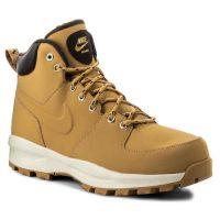 Męskie skórzane buty za kostkę Nike