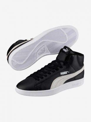 Męskie skórzane buty za kostkę Puma