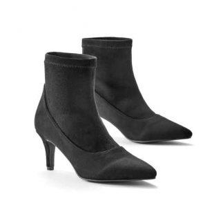 Nowoczesne buty na niskim obcasie