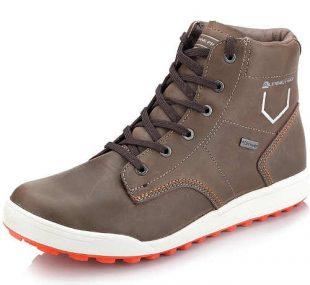 Brązowe buty za kostkę Alpine Pro dla mężczyzn