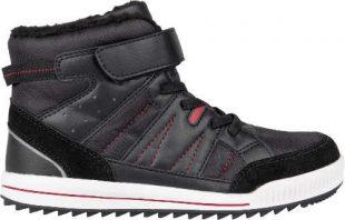 Tanie buty za kostkę szare buty zimowe dla dzieci Lewro CUBIQ II